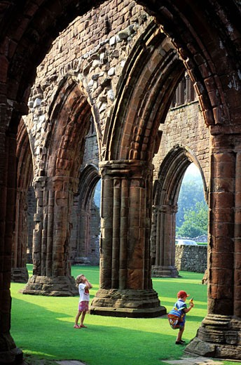 Stock Photo: 1792-33871 United Kingdom, Scotland, Dumfries and Galloway, Sweetheart Abbey