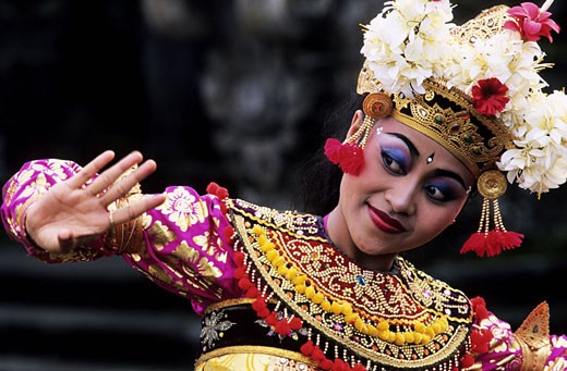 Stock Photo: 1792-34072 Indonesia, Bali, Legong dance