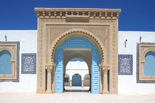 Tunisia, Djerba Island, Zarzis mosque : Stock Photo