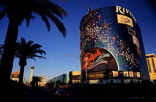 United States, Nevada, Las Vegas city, Riviera Hotel : Stock Photo