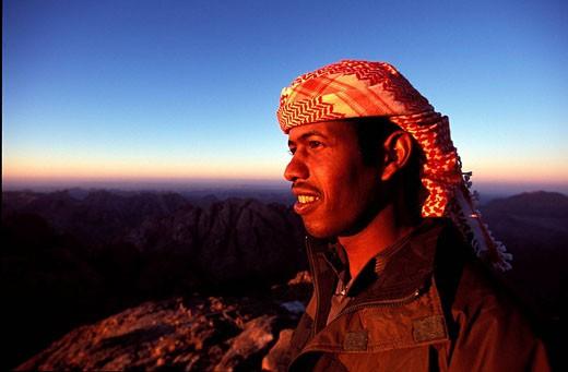 Stock Photo: 1792-36577 Egypt, the Sinai peninsula, bedouin in the Sinai desert