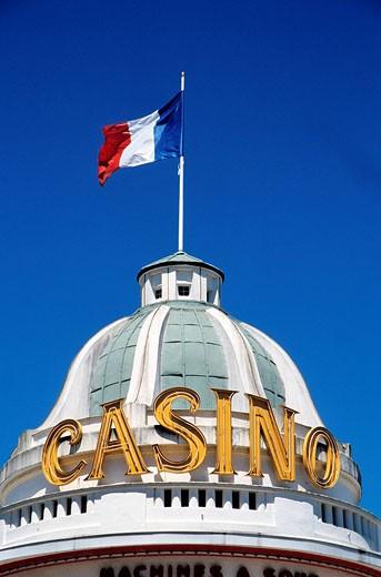 Stock Photo: 1792-37071 France, Orne, Bagnoles de l´Orne, casino