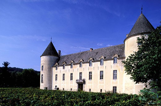 France, Côte-d´Or (21), Savigny-Les-Beaune castle : Stock Photo