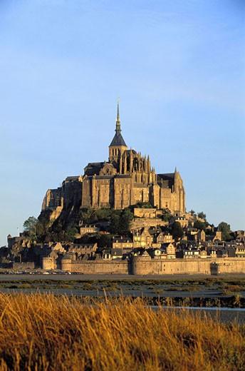 France, Manche (50), Mont Saint-Michel : Stock Photo