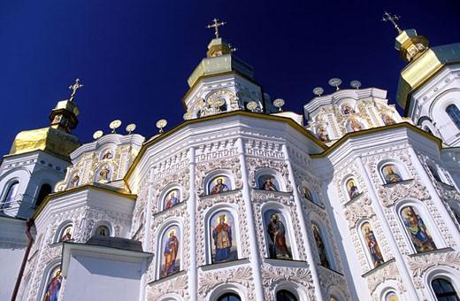 Ukraine, Kiev, the Petchersk Lavra monastery : Stock Photo
