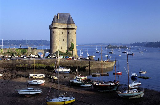 Stock Photo: 1792-41640 France, Côtes-d´Armor (22), Solidor tower in Saint Sevran