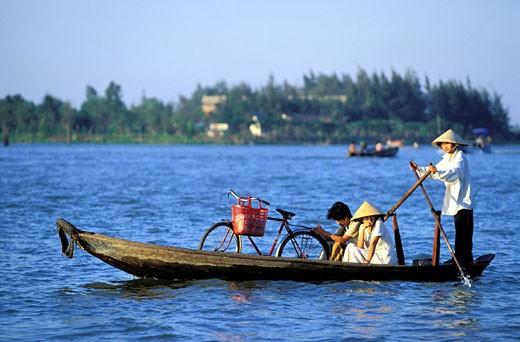 Stock Photo: 1792-42000 Vietnam, Mekong Delta, Can Tho