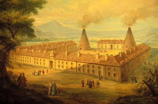 France, Saône-et-Loire (71), Le Creusot, La Verrerie castle, Man and industry museum : Stock Photo