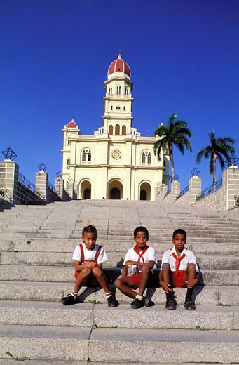 Cuba, Santiago de Cuba, Cobre basilica : Stock Photo