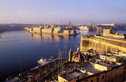 Stock Photo: 1792-43410 Malta, Eastern region, Valletta