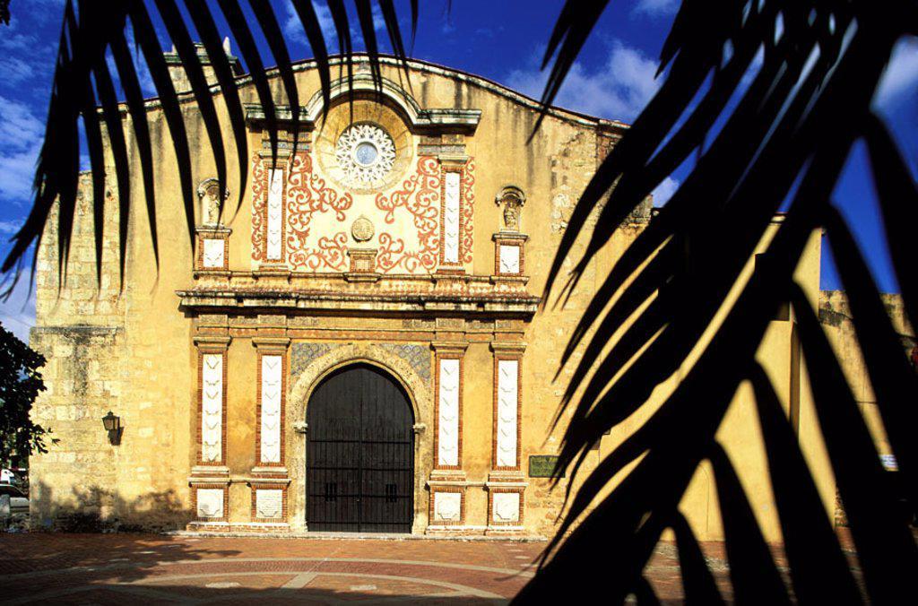 Dominican Republic, Santo Domingo, Santo Domingo´s convent, 1rst university of the new world : Stock Photo