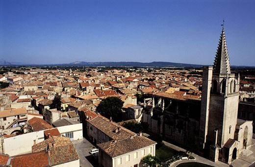 France, Bouches-du-Rhône (13), Tarascon : Stock Photo