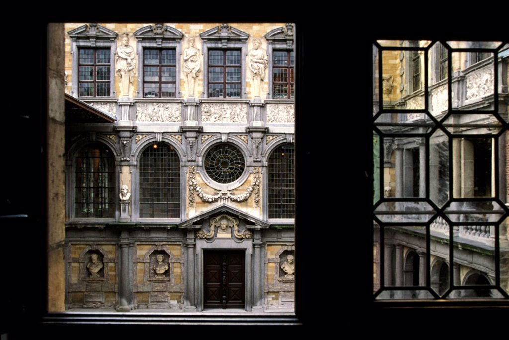 Stock Photo: 1792-45507 Belgium, Antwerp (Antwerpen), Rubens´ house and museum
