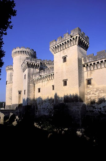 Stock Photo: 1792-47840 France, Bouches-du-Rhône (13), Tarascon, King René´s castle