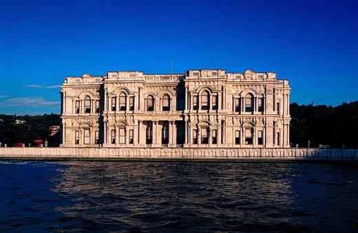 Stock Photo: 1792-47915 Turkey, Istanbul, Bosphorus, Dolmabaçe, former palace of Ataturk Mustapha Kemal