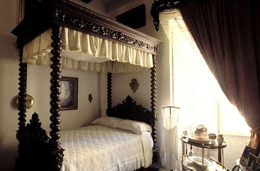 Stock Photo: 1792-47987 Malta, Valletta, Rocca Piccola House, the bedroom
