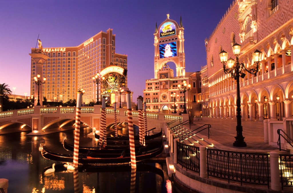 United States, Nevada, Las Vegas, the Venetian Hotel : Stock Photo