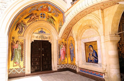 Stock Photo: 1792-49831 Cyprus, Troodos region, the Kykkos monastery is the most famous and richest in Cyprus