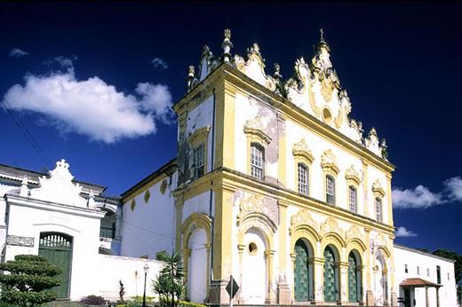 Stock Photo: 1792-49943 Brazil, Bahia state, Cachoeira colonial city, the Ordem Terceira do Carmo church