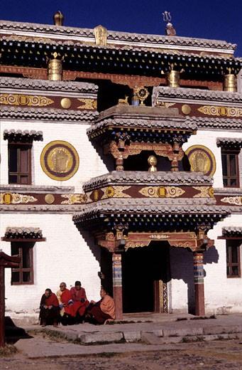 Mongolia, Erdenezu monastery : Stock Photo