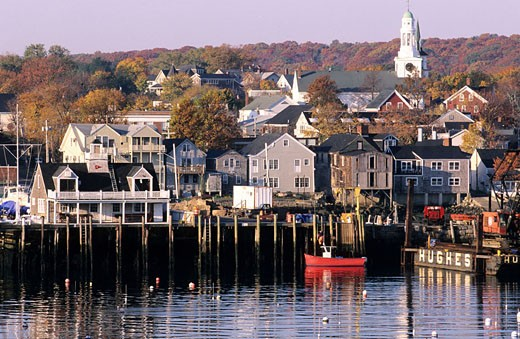 United States, Massachussets, Rockport, North of Boston, the North Shore : Stock Photo