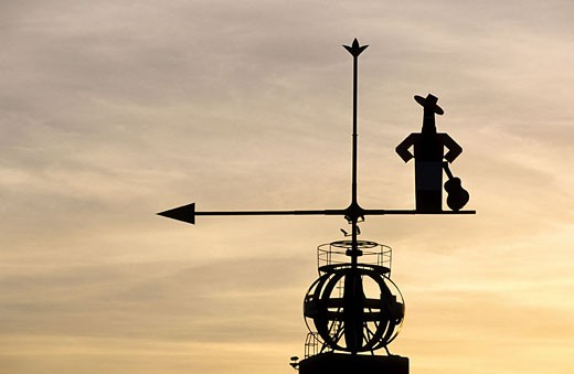 Stock Photo: 1792-56427 Spain, Andalusia, Jerez de la Frontera, the biggest weather vane of the world