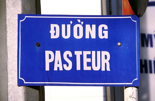 Vietnam, Saigon (Ho Chi Minh City), one of the rare streets whose name didn´t change : Stock Photo
