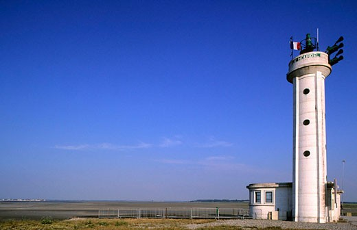 Stock Photo: 1792-57162 France, Somme (80), Somme Bay, Hourdel lighthouse