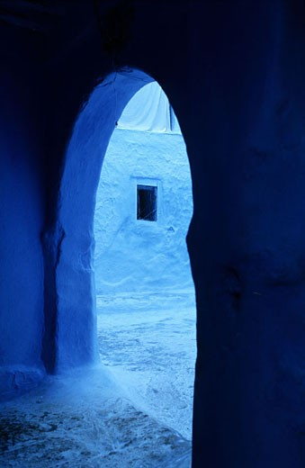 Stock Photo: 1792-57489 Morocco, Chefchaouen, the medina