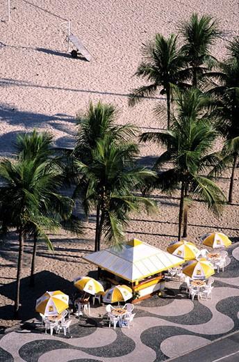 Stock Photo: 1792-57727 Brazil, Rio de Janeiro, Copacabana beach