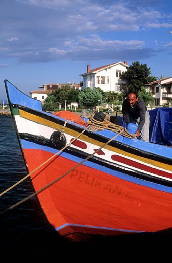 Turkey, Istanbul, the Princes Islands, little suburban archipelago just off the Asia coast of the Marmara sea : Stock Photo