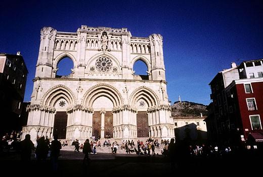 Stock Photo: 1792-59301 Spain, Castile la Mancha, La Mancha, Cuenca cathedral
