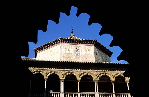 Spain, Andalusia, Sevilla, the Alcazar : Stock Photo
