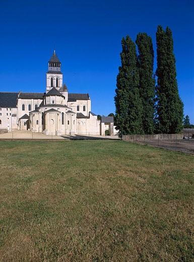 Stock Photo: 1792-59472 France, Maine et Loire, Fontevrault Abbey