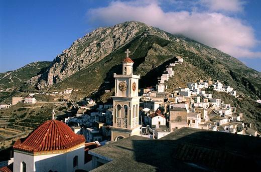 Stock Photo: 1792-59999 Greece, Dodecanese, Karpathos Island, Olympos village