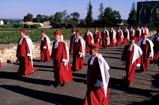 France, Gironde (33), Saint-Emilion village, the Jurade brotherhood : Stock Photo