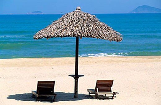 Vietnam, Province of Quang, Hoi An Beach : Stock Photo