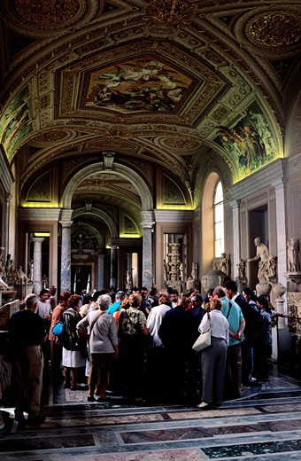 Italy, Lazio, Rome, the Vaticans museums : Stock Photo
