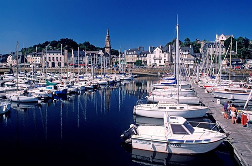 France, Côtes d´Armor, Binic : Stock Photo
