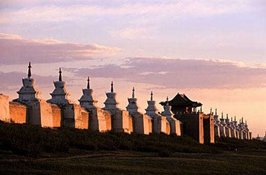 Mongolia, Ovorkhangai Province, Karakorum, Erdenezu Monastery : Stock Photo
