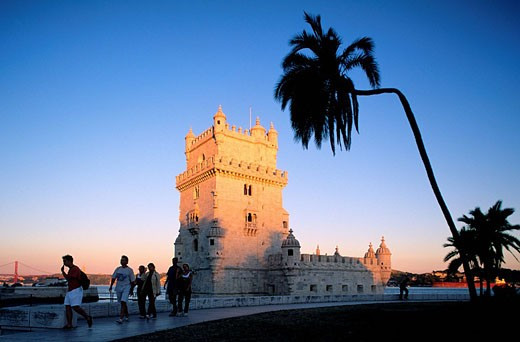 Stock Photo: 1792-64669 Portugal, Lisbon, Belem district, the Belem Tower, listed as World Heritage by UNESCO