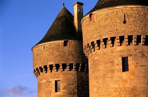 France, Loire Atlantique, Presqu´ile de Guerande, Guerande, Saint Michel Gate : Stock Photo