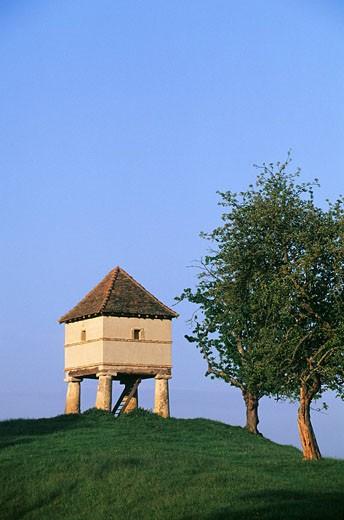 Stock Photo: 1792-67641 France, Saone et Loire, pigeon house of the Maconnais region