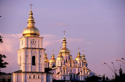 Stock Photo: 1792-67701 Ukraine, Kiev, Saint Michel Monastery
