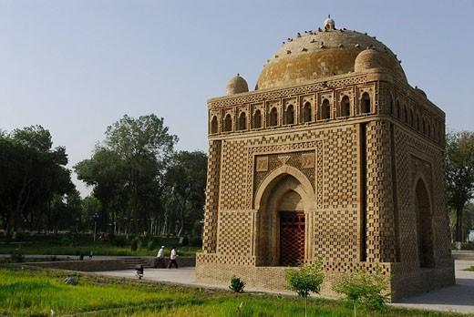 Stock Photo: 1792-68163 Uzbekistan, Bukhara, the mausoleum of Ismail Samani