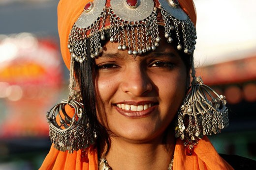 India, Jammu and Kashmir, Srinagar, typical jewels of Kashmir : Stock Photo