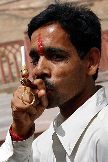India, Rajasthan State, Jaipur : Stock Photo