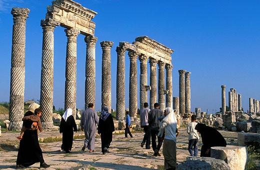 Syria, Apamea : Stock Photo