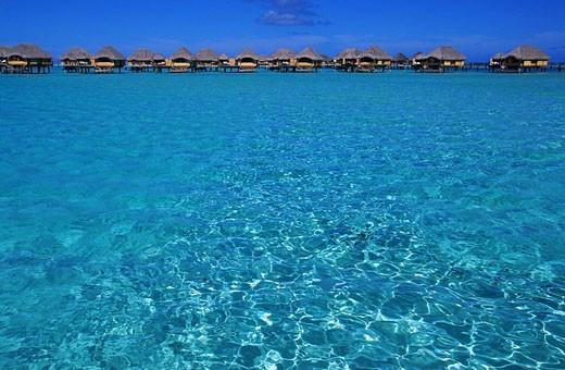 Stock Photo: 1792-72264 France, French Polynesia, Society archipelago, Leeward islands, Tahaa island, Le Tahaa hotel