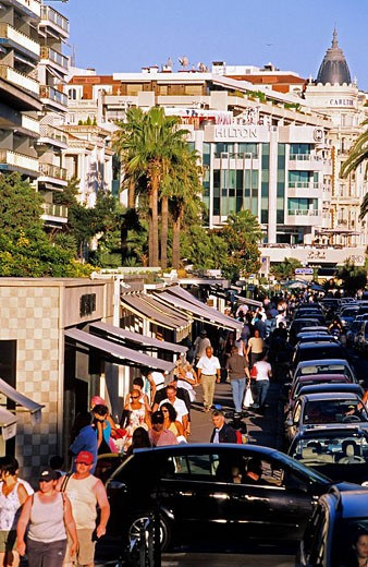 France, Alpes Maritimes, Cannes, Croisette : Stock Photo